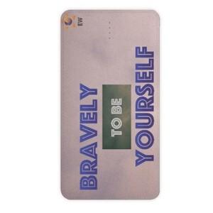 "Believe S'eries ""Bravely"" 10000MAH Power Bank"