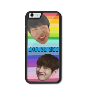 iPhone 6/6s BTS Funny Meme Bumper Case