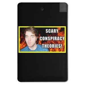 2500mah Power Bank-Shane Dawson scary conspiracy theories