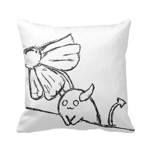 花之惡魔精靈 Pillow 16