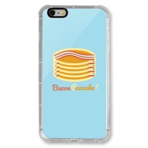 Bacon Pancake! iPhone 6/6s Plus Transparent Bumper Case