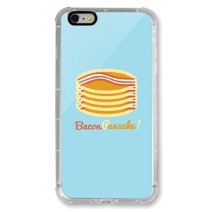 Bacon Pancake! iPhone 6/6s Plus Transparent Bumper Case