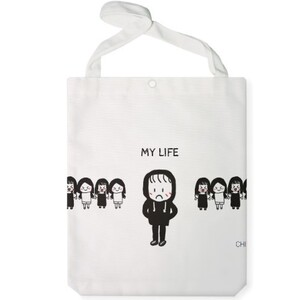 my life Jumbo Tote Bag