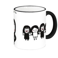 my life Fringe & Handle Color Mug