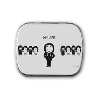 my life Metal Hinge Top Tin(Small)