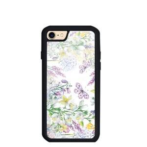 jasmine iPhone 7 TPU Dual Layer  Bumper Case