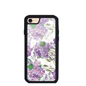 Violet buldenez iPhone 7 TPU Dual Layer  Bumper Case