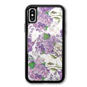 Violet buldenez iPhone X TPU Dual Layer  Bumper Case