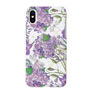 Violet buldenez iPhone X Glossy Case