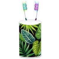 Tropical Toothbrush Holder