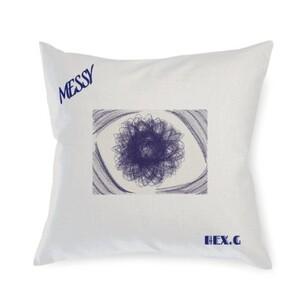Messy Linen Pillow