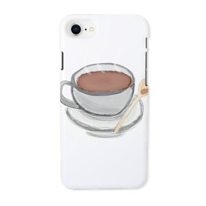Coffee iPhone 8 Glossy Case