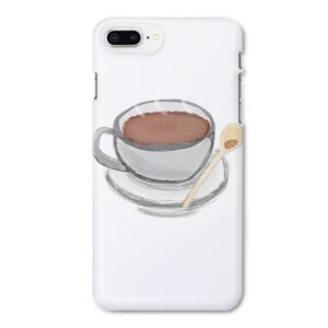 Coffee iPhone 8 Plus Glossy Case