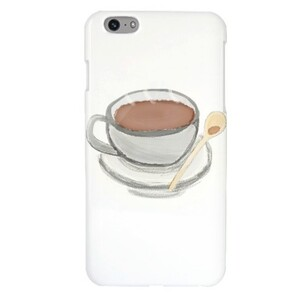 Coffee iPhone 6/6s Plus Glossy Case