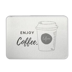 enjoy coffee Felt Case 7.9 inch