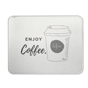 enjoy coffee Felt Case 9.7 inch