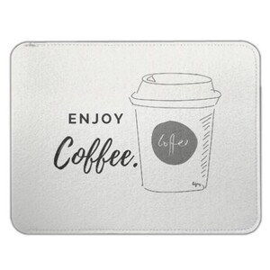 enjoy coffee Felt Case  15 inch