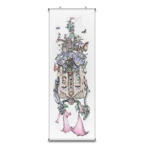 "Fabric Wall Scroll Poster 18"" X 59"""