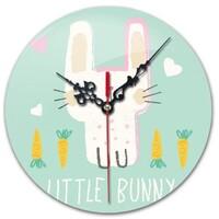Bunny Round Wall Clock