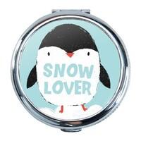 Penguin Round Compact Mirror (Small)