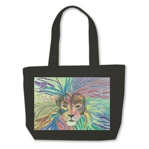 Mini Tote Bag-Lion