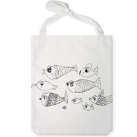 fish Jumbo Tote Bag