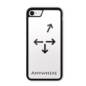 Anywhere iPhone 8 Bumper Case 1