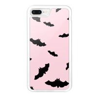 Bat Pink iPhone 8 Plus Bumper Case