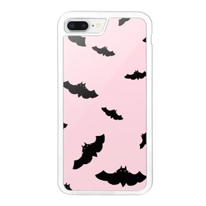 Bat Pink iPhone 8 Plus Bumper Case