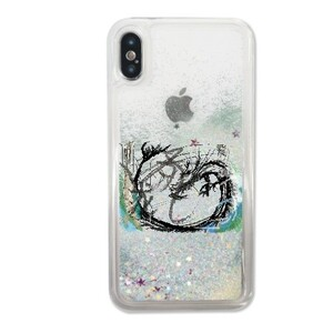iPhone X Liquid Glitter Case