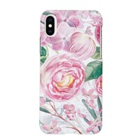 ROSE iPhone X Glossy Case