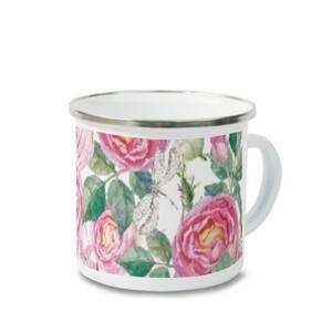 ROSE Enamel Mug