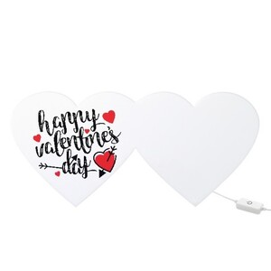 Heart Shaped Light Box