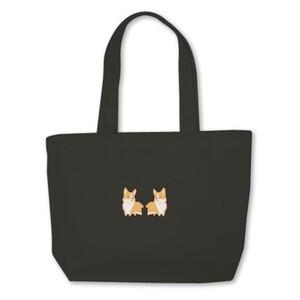 柯基帆布手提袋 Corgi Mini Tote Bag