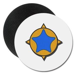Round Rubber Coaster
