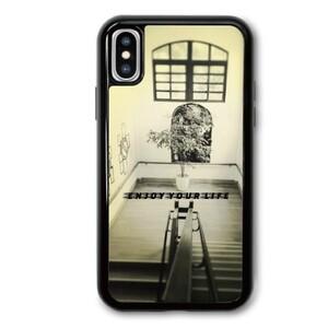 iPhone X phone case--enjoy your life