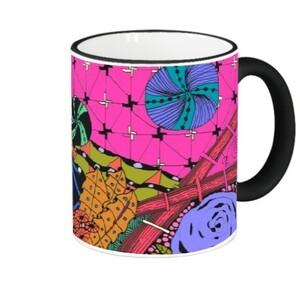 Fringe & Handle Color Mug