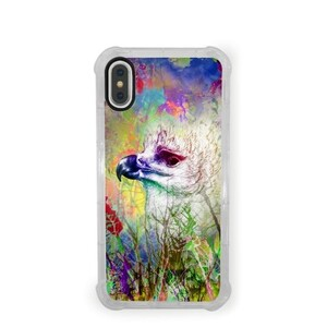 Harpia harpyja  iPhone X Transparent Bumper Case