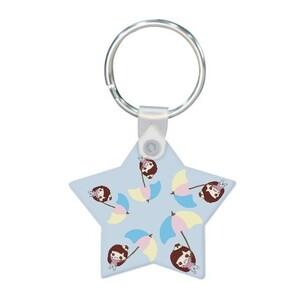 Star Shaped Keychain min