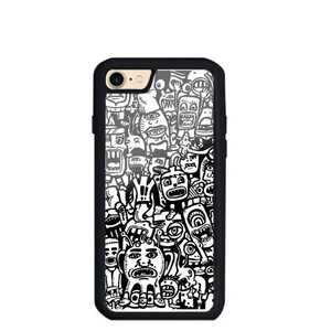 iPhone 8 TPU Dual Layer  Bumper Case