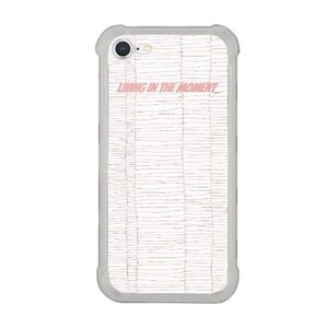 living in the moment-iPhone 8 Transparent Bumper Case