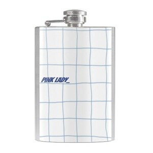 alcohol pink lady-Hip Flask