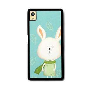 Sony Xperia Z5 Bumper Case -Scarf Bonny 圍巾小兔 (Green 湖水綠)