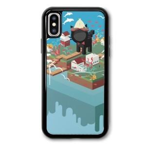 Booboo-the cola cat iPhone X TPU Dual Layer  Bumper Case