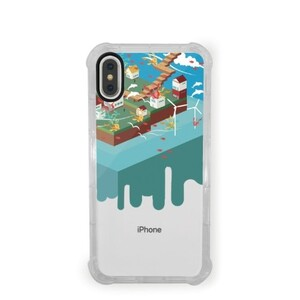 Booboo-the cola cat iPhone X Transparent Bumper Case
