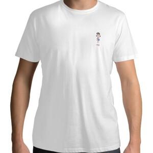 靜香 small logo t-shirt
