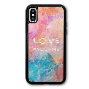 Water Color iPhone X TPU Dual Layer  Bumper Case