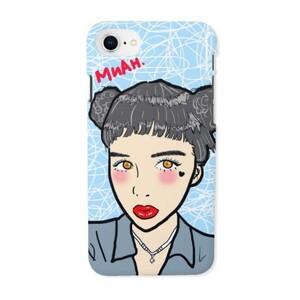 MUAH - iPhone 8 Glossy Case