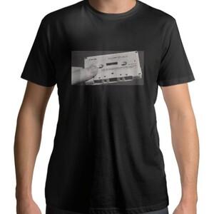 懷舊磁帶 男裝圓領Men 's Cotton Round Neck T - shirt