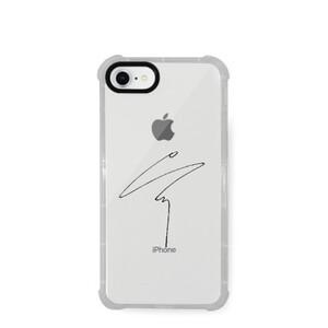 Sungjae Sign (iPhone 8 Transparent Bumper Case)